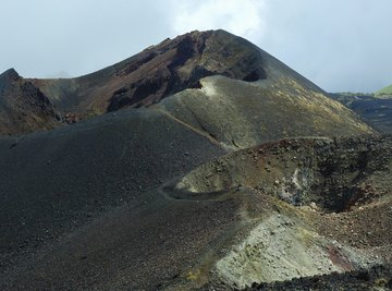 Like many of West Africa's highest mountains, Mount Cameroon is an active volcano.