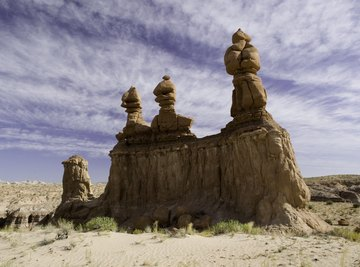 Utah serves as home to parts of the Great Basin and semiarid deserts.