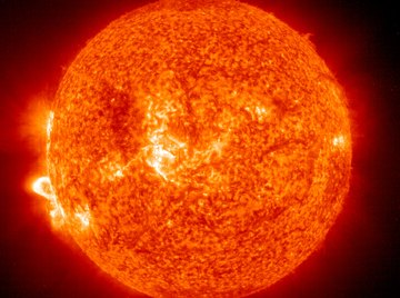 A tiny bit of the sun's energy can be converted to electricity on Earth.