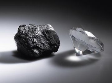 Diamonds are composed of carbon.