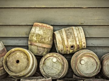 You can draw 248 pints from a standard beer barrel.