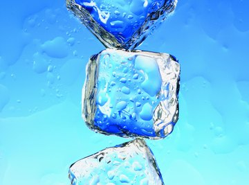 Would ice cubes made of glycerin freeze faster or slower?