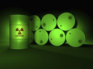 Radioactive materials decay predictably according to the half-life principle.