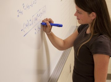 Students learn how to simplify monomials in algebra.