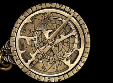 Astrolabes were used by ancient mariners to determine their position at sea.