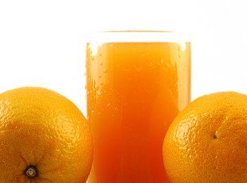 Orange juice is an acidic liquid.