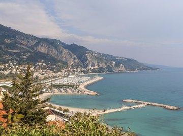 France's Mediterranean coast