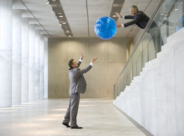 A ball drop experiment can be performed almost anywhere.