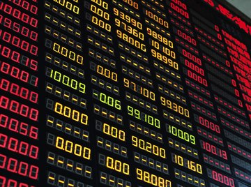 Movements in stock prices are frequently given as relative changes.