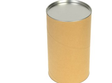 The area of the cylinder's brown side is its lateral area.