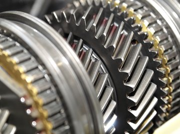 A gear is usually one part of a larger object.