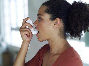 Air pollution can trigger an asthma attack.