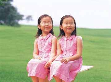 Contrary to popular belief, twins do not necessarily skip a generation.