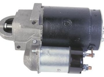 Some solenoids are mounted directly on the starter motor.
