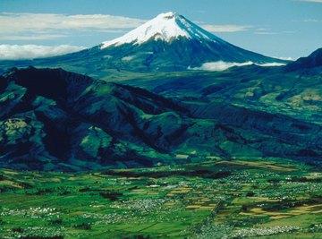 Snow melt after a volcanic eruption cause landslides and erosion.