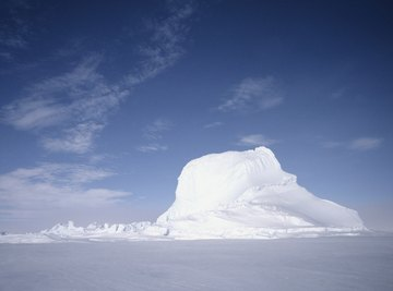 Icebergs are made of freshwater.
