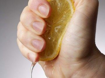 Loads of chemistry inside that lemon.