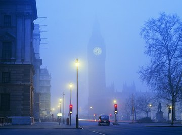London smog was so thick in 1952 that it killed 4,000 people.
