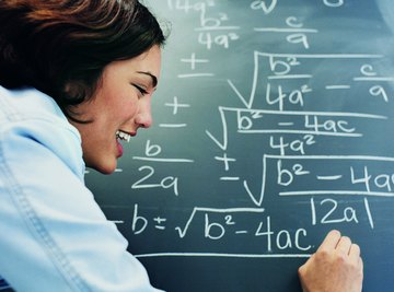 Solid math skills are essential for teachers.