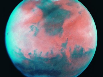 Mars is a desert planet.