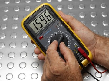 The thermocouple consists of two sensors that connect to a multimeter.