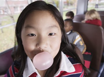 Fun experiments involve testing bubble size, gum sweetness and flavor intensity.