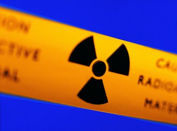 Ionizing radiation such as X-rays poses serious health risks.