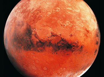 Mars' surface is noticeably warmer than the air slightly above it.
