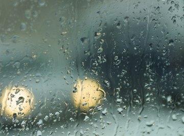 Condensation requires temperature change.