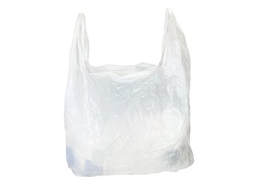 Plastic bags are a large component of marine pollution.