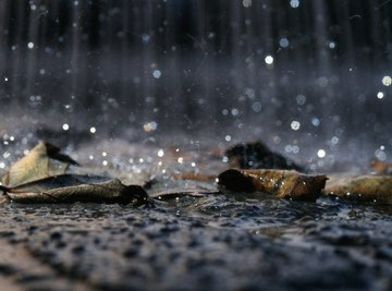 In an industrial world, rain is not completely harmless.