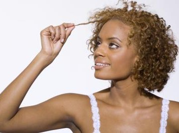 Hair color is the result of two pigments