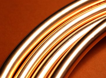 By itself, metallic copper is not an explosive substance.