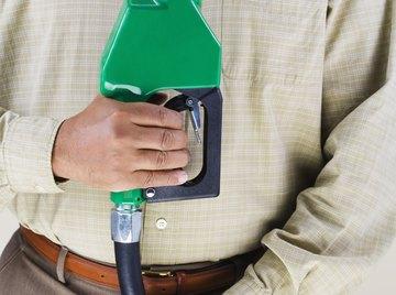 Gasohol blends promote renewable energy but raise food costs.