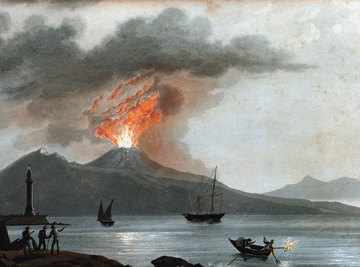 Mt. Vesuvius is regarded as one of the most dangerous volcanoes in the world.