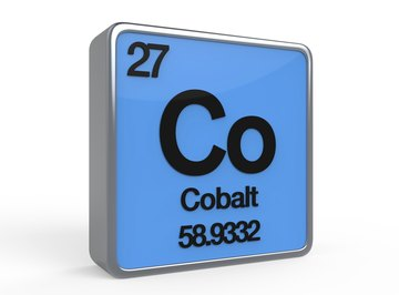 The metal cobalt has many uses in art, medicine and industry.