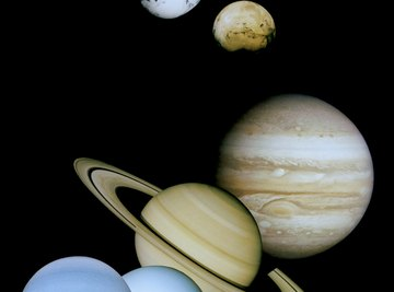 The planets in our solar system.