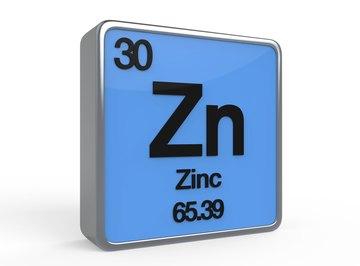 Zinc has an atomic mass of 65.39 atomic mass units.