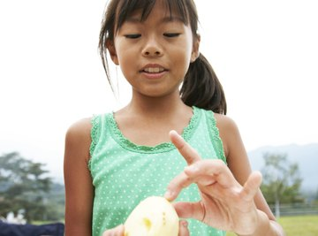 Children can learn about osmosis observing potatoes.