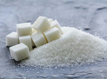 Sugars are composed of organic molecules.