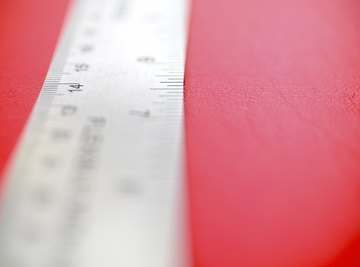 Steel rulers often feature both a metric and an imperial graduation.