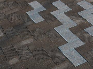 Brick designs often follow a pattern of a rotation tessellation