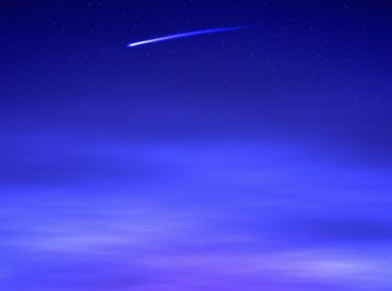 The force of friction turns a meteoroid into a meteor.