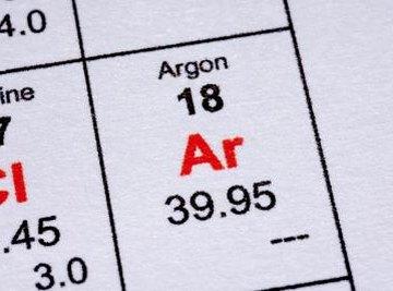 Argon varies in purity.