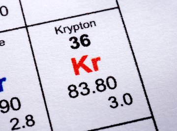 As a noble gas, krypton is always on the edge of the periodic table.