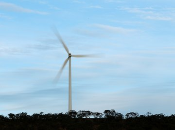 The average daily wind speed is essential in determining the usefulness of wind turbines.