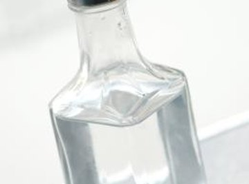 White vinegar can be used to test for many calcium compounds.