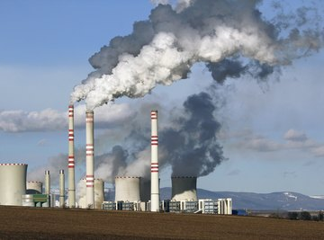 Solar panels, unlike coal plants, release no harmful greenhouse gases.
