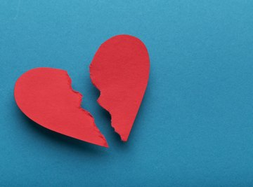 Heartbreak affects both your brain and body.