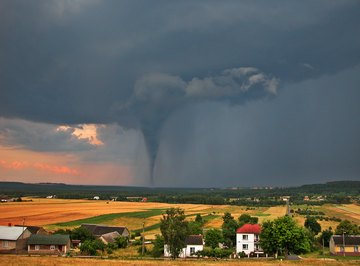 How Do Tornadoes Affect Nature